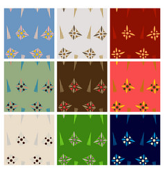 Abstract simple pattern hand drawn for your design vector