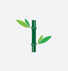 bamboo logo icon symbol element vector image