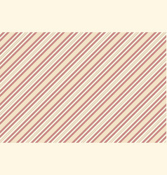 beige red striped fabric texture seamless pattern vector image