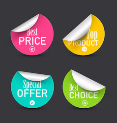 Best price and choice special offer top product vector