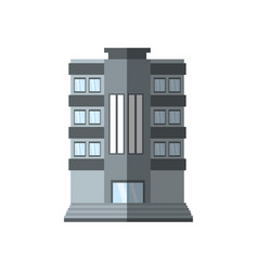 Building living place shadow vector