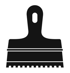 glue spatula icon simple style vector image
