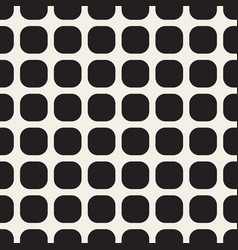 Monochrome seamless geometric pattern vector