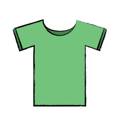 t shirt icon image vector image
