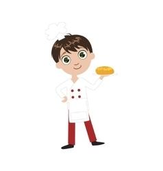 Boy Future Baker vector image vector image