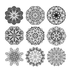 Mandala seamless pattern Floral ethnic abstract vector image vector image