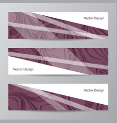 Abstract geometric design banner web vector
