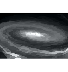 abstract gray spiral vector image