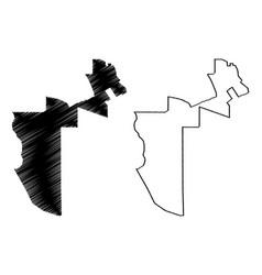 Al rayyan state qatar municipalities qatar vector