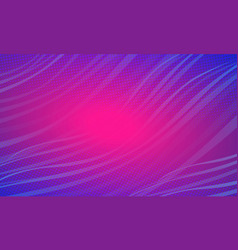 blue magenta wave festive abstract background vector image