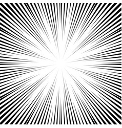 comic book speed lines background vector image