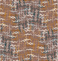 Hand drawn woven basket texture seamless pattern vector