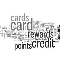How to maximize your credit card rewards vector