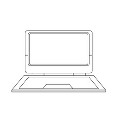 Laptop computer device technology digital vector