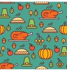 Thanksgiving Day pattern vector