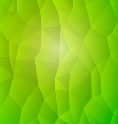 Abstract Nature Detail Structure Green Triangles vector image vector image