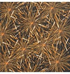 modern fireworks background design vector image