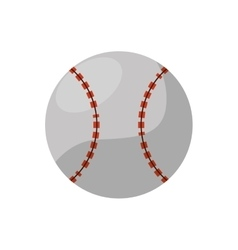 Ball of baseball sport design vector