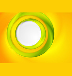 Bright abstract corporate background with circles vector