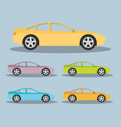 Car in flat style vector