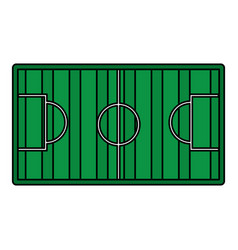 football soccer icon image vector image