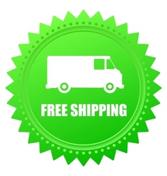 Free shipping vector image