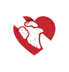 Love care vector