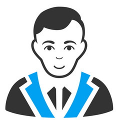 Noble gentleman icon vector