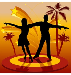 Spain Dancers vector image vector image