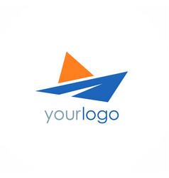Arrow business logo vector