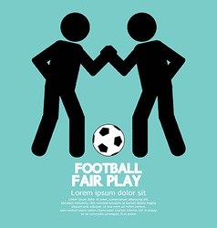 Fair Play Sport Sign vector image