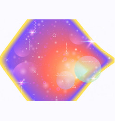 Galaxy background with cosmos and universe shapes vector