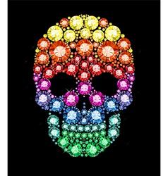 Gem Skull vector image