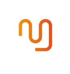 Letters m logo design template elements vector