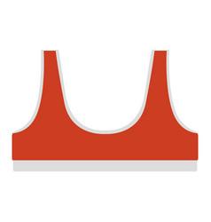 sports bra icon vector image