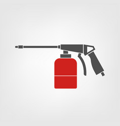 spray gun icon vector image