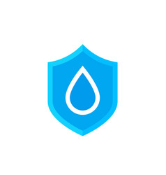 Waterproof icon symbol vector