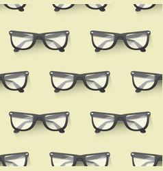 fashion sunglasses accessory seamless pattern vector image