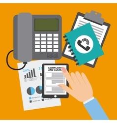 Financial calculation vector