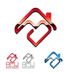 Builders Logo vector image vector image