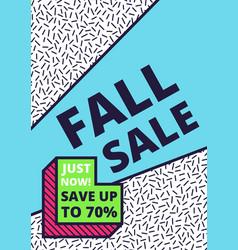 Flat design sale website banner template vector