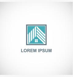 house rocompany logo vector image