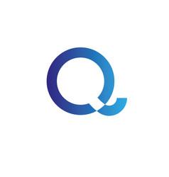 Letters q logo design template elements vector