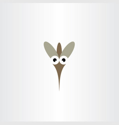 mosquito logo icon symbol vector image