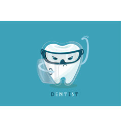 Protect of tooth vector image