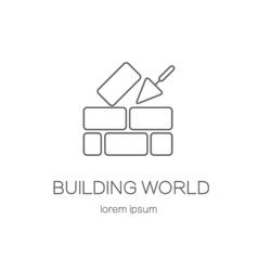 House repair logo vector image