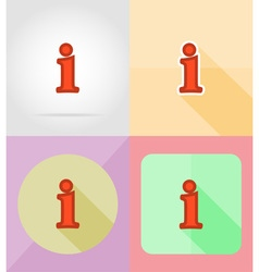 service flat icons 28 vector image vector image