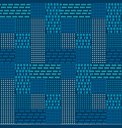 abstract geometric urban seamless pattern vector image