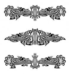 Heraldry crests vector