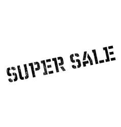 super sale rubber stamp vector image